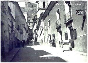 Calle del Caño, años 50