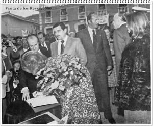 Visita del Rey año 80