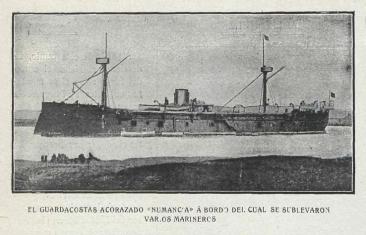 Fragata Numancia